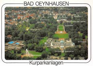 Bad Oeynhausen Kurparkanlagen, Jordansprudel Kurhaus, Spielcasino Badehaus II