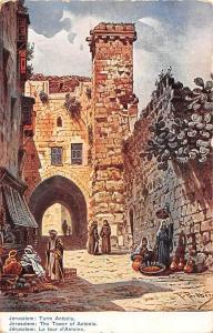 Israel Jerusalem The Tower of Antonia, F. Perlberg