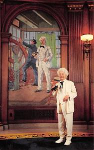 Mark Twain Mural in Governor's Office Unused