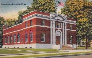 Post Office Greenfield Massachusetts
