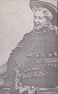 Arcade Card Betty Hutton