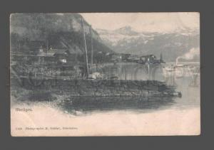 079797 SWITZERLAND Merlingen & ship Vintage PC