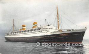 SS Nieuwamsterdam Holland America Line Ship Postcard Post Card Holland Americ...