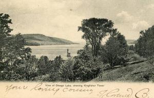 NY - Otsego Lake, Kingfisher Tower