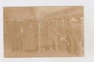 canada  british columbia real photo fernie indian tribe chiefs FOTO DOCUMENT