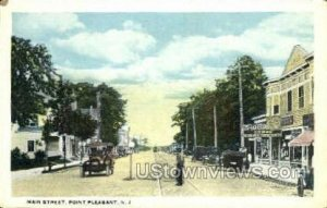 Main Street in Point Pleasant, New Jersey