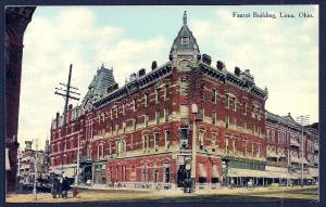 Faurot Building Lima OH used c1910