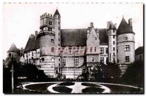 Old Postcard Bourges Palais Jacques Coeur View from the Berry Square