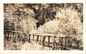 RPPC The Mink, Mohawk Tavern, Blairsden, California 1934 Vintage Postcard