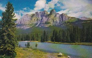 Canada Alberta Banff Mount Eisenhower