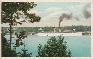 HARBOR SPRINGS, Michigan, 1900-10s; S.S. NORTHLAND Leaving