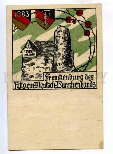 192431 AUSTRIA Frankenburg am Hausruck coat of arms Vintage