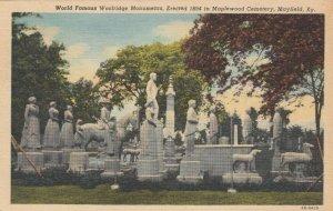 MAYFIELD , Kentucky, 1945; Woolridge Monument, Maplewood Cemetery