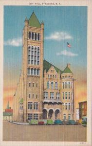 New York Syracuse City Hall