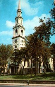 Rhode Island Providence First Baptist Church