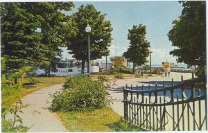 Waterfront Boat Dock Downtown St. Ignace Michigan MI