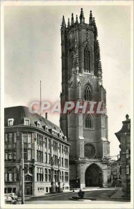Modern Postcard Freiburg Cathedral of St Nicolas