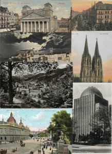 Germany - Berlin, Aachen and more Postcard Lot of 40 RPPC and Printed - 01.05