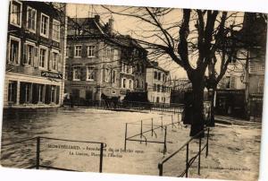 CPA MONTBÉLIARD - Inondation du 20 Janvier 1910 - La Luzine Place.. (183015)