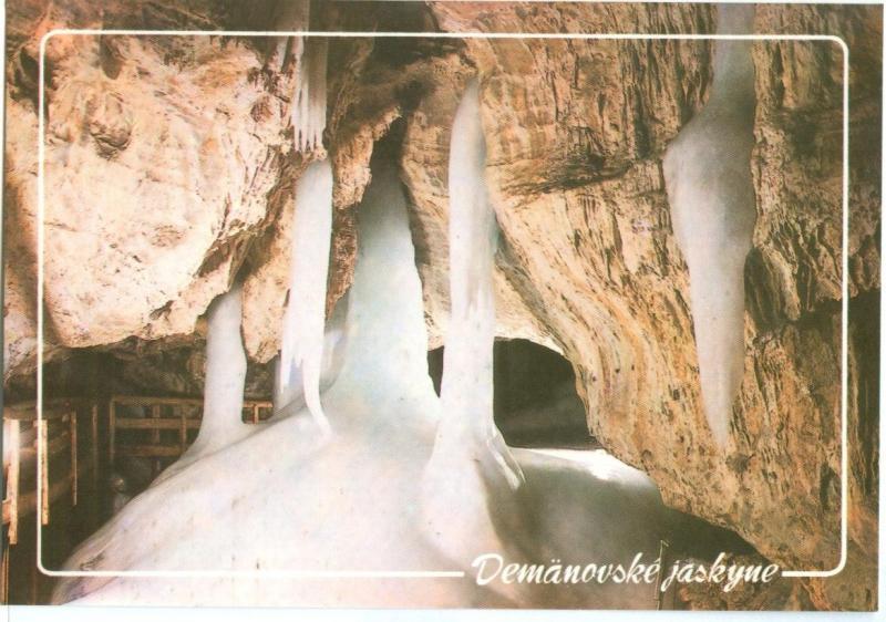 Slovakia, Demänovské jaskyne, unused Postcard