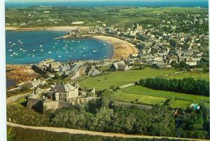 Postcard Star castle Harbor Hugh Town St Matys Isle Scilly  England # 3675A