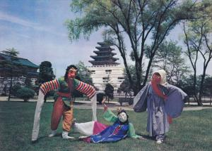 Mask Dancers, SOUTH KOREA, 50-70´s