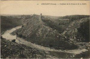 CPA CROZANT Confluent de la Creuse et de la Sedelle (1144064)