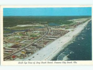 Pre-1980 AERIAL VIEW OF TOWN Panama City Florida FL n3045