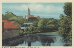 PORT HOPE , Ontario , 1930s , Ganaraska River