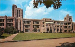 Indianapolis Indiana~Butler University~Jordan Memorial Hall~1950s Postcard