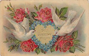 White Doves & Red Roses , Birthday  , 00-10s