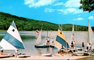Pennsylvania Pittsburgh YMCA Deer Valley Camp Waterfront Scene