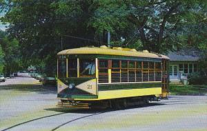 Trolley Fort Collins Municipal Railway Birney Car No 21