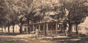 Manchester Vermont Worthy Inn Exterior Real Photo Antique Postcard J42860