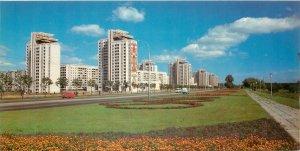 Postcard Belarus Minsk Lenin avenue