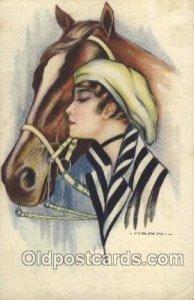 Series no. 257-6 Artist Signed Giovanni Nanni (Italy) Unused minor corner wea...
