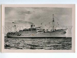 130798 USSR RUSSIA Motor Ship ROSSIYA diesel electric ship old