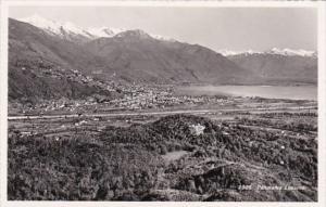 Switzerland Locarno Panorama 1952 Photo