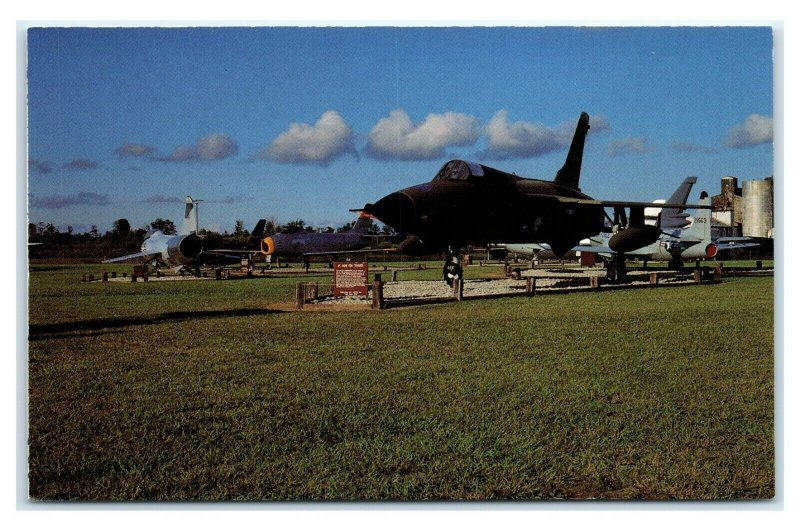 Postcard Heritage Air Museum (F-105), Peru IN located outside the gates E10