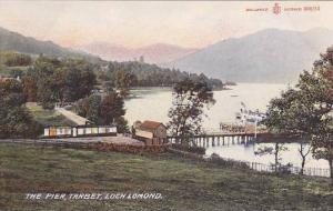 Scotland The Pier Tarbet Loch Lomond