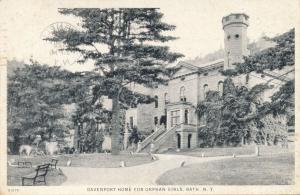 Davenport Home for Orphan Girls - Bath NY, New York - pm 1928 - WB