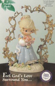 Precious Moments Figurine Feel God's Love Surround you , 1997