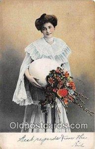Glamour Woman 1907 a lot of corner wear
