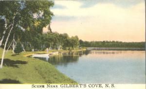 Scene near Gilbert's Cove NS, Nova Scotia, Canada