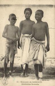 CPA Djibouti Afrique - Diablotins Somalis (86965)