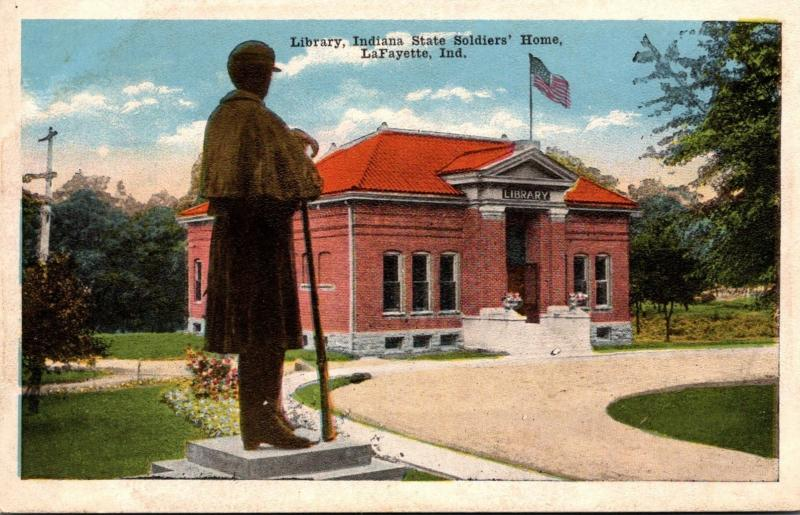 Library Indiana State Soldiers' Home LaFayette Indiana