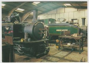 Ffestiniog Railway; Busy Times At Boston Lodge Works PPC By Dixon, Unposted