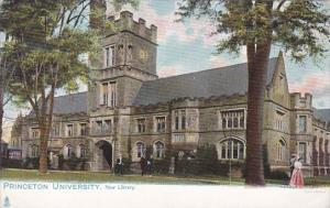 New Jersey Princeton University New Library Tucks