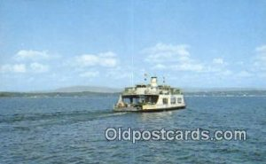 MV Adirondack Ferry, Burlington, Vermont, VT USA Ferry Ship Unused light wear...