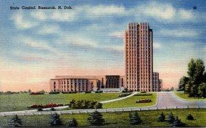 North Dakota Bismarck State Capitol Building